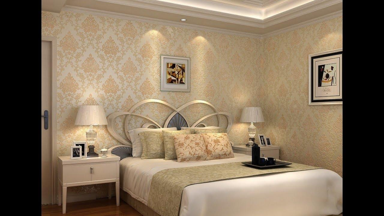 Tren Wallpaper Dinding Kamar Tidur Utama Masa Kini