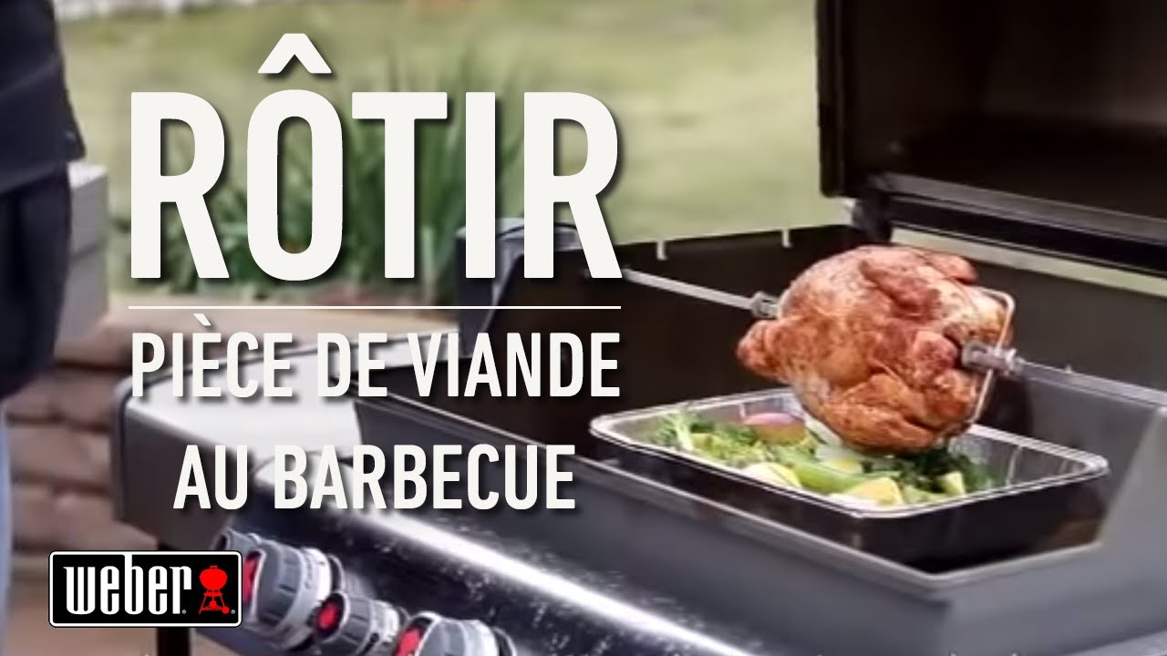 Recette jambon barbecue weber