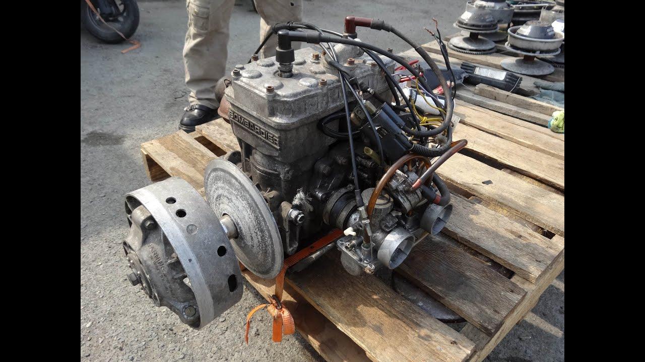 bombardier rotax type 467 engine youtube