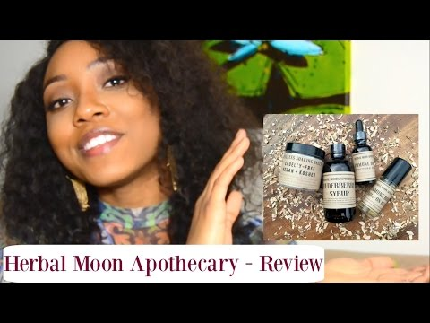 Herbal Moon Apothecary Review | Organic Handmade Beauty Products