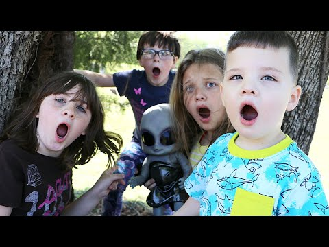 We Found a REAL BABY ALIEN In Our Yard!