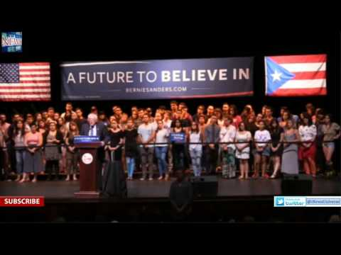 LIVE Stream Bernie Sanders San Juan Puerto Rico Rally at University of Puerto Rico 5 16 16