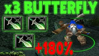 DOTA SNIPER X3 BUTTERFLY (+180% ATTACK SPEED)