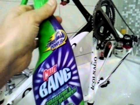 Come lavare una bicicletta in vasca da bagno - YouTube
