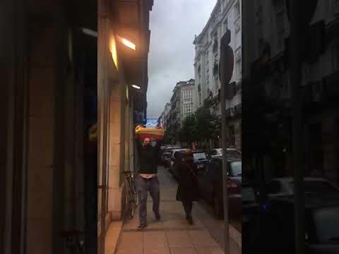 La calle Hernán Cortés se convierte en el barrio de Salamanca de Santander
