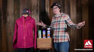 Cleaning and Re-Waterproofing Rain Gear with Nikwax