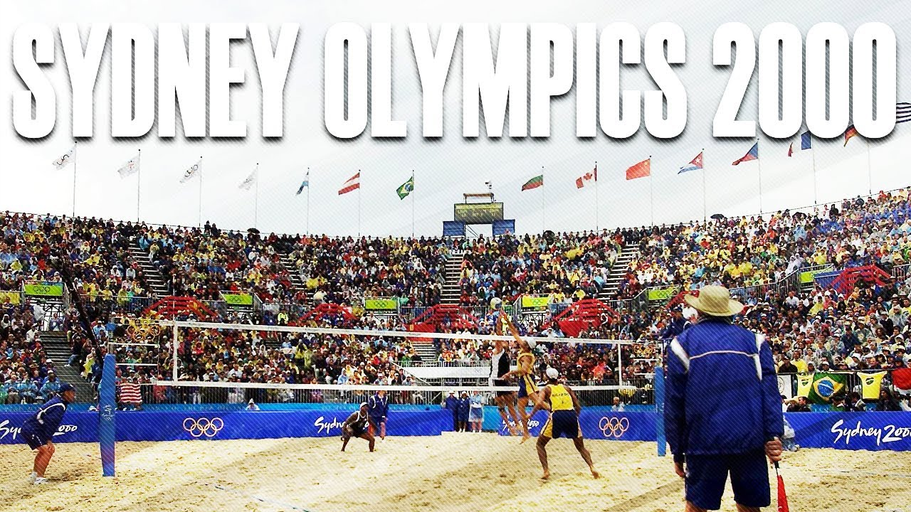 Sydney Olympics 2000 Top Plays Beach Volleyball World Youtube