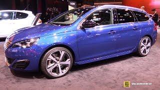 Video 2017 Peugeot 308 SW GT Line 2.0 Diesel - Exterior and Interior Walkaround - 2016 Paris Motor Show download MP3, 3GP, MP4, WEBM, AVI, FLV Juli 2018