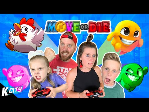He's a Derpy Chicken! (Party Games Family Battle) K-CITY GAMING