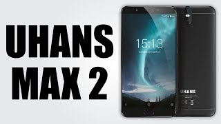 UHANS Max 2 - 6.44 inch / Android 7.0 / 4GB RAM + 64GB ROM / 13.0MP + 2.0MP Front Cameras