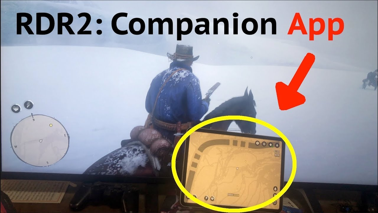 RDR2: Companion App For Red Dead Redemption 2: How To Sync Map on iPad  Display