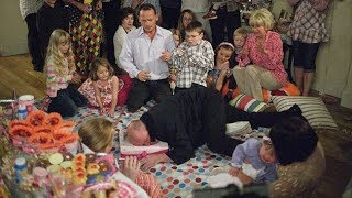 EastEnders - Phil Mitchell Falls On Janet Mitchell's Birthday Cake (4th September 2007)
