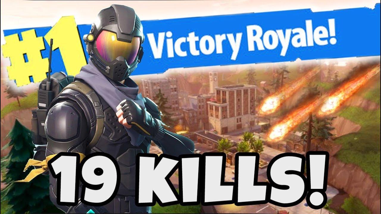 New Kill Record 19 Kill Tilted Towers Solo S Drop Fortnite