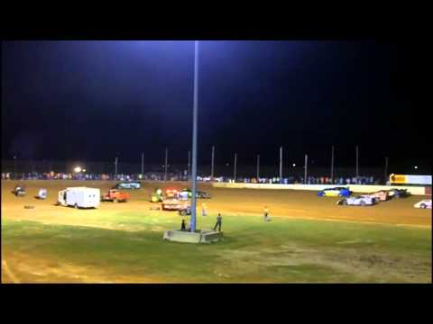 Late Model Rollover & Retaliation At Albany Motor Speedway