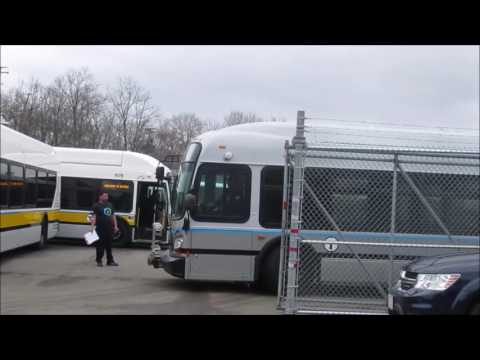 [MBTA EXCLUSIVE HD] (NEW BUS ALERT) 2 BRAND NEW XDE60's depart NEBR to their new home