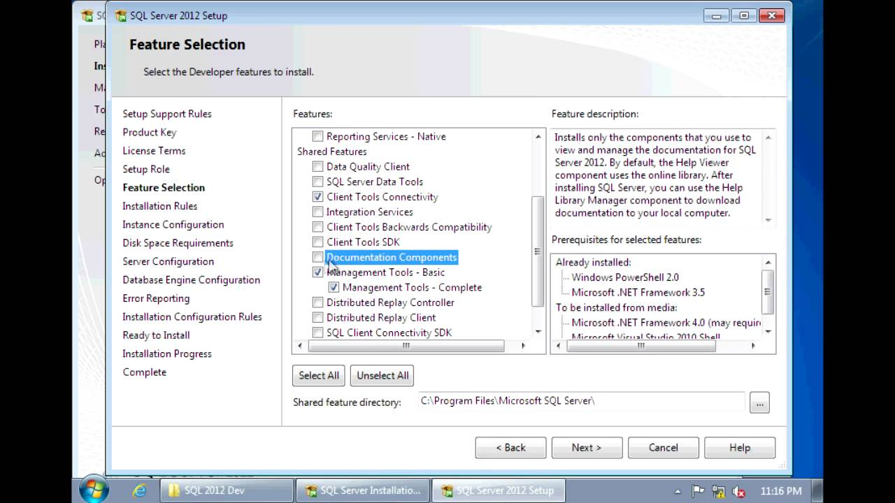 SQL Server 2012 - Installation step by step