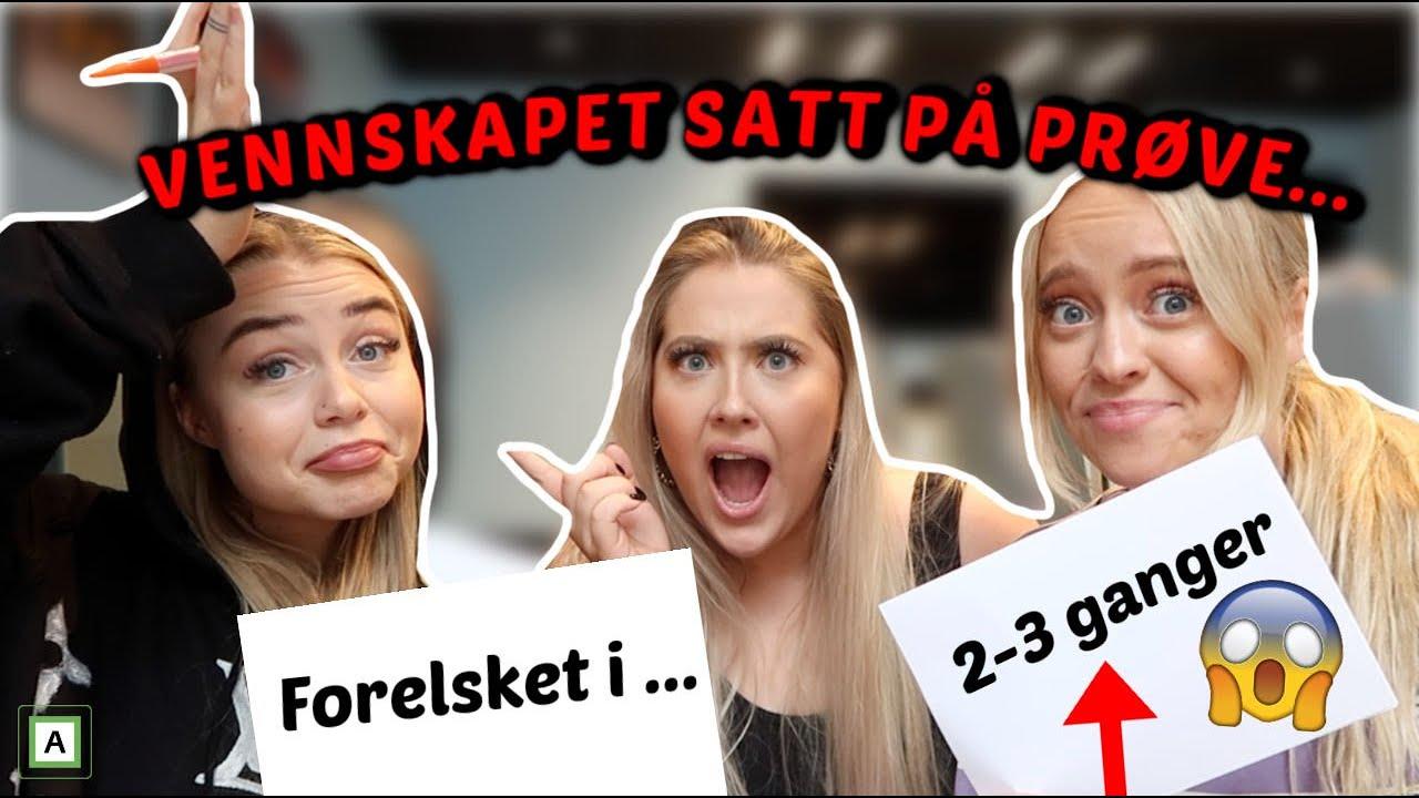 HVEM KJENNER MEG BEST? Sara Høydahl VS. Sandra Thoen...😱