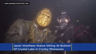 Jason Voorhees Statue Chained To Bottom Of Minn. Lake