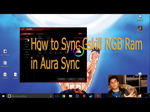 Download How To Sync Tridentz Rgb Ram To Asus Aura Sync Fix For
