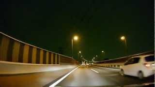 首都高速川口線 S1 上り 川口JCT ~ 江北JCT [車載 2012/09 夜間]