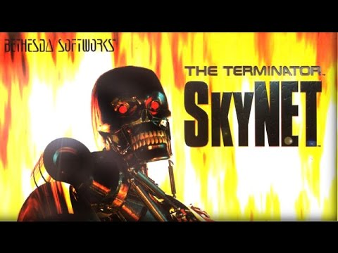 SkyNET (PC/DOS) Intro, gameplay, 1996, Bethesda Softworks