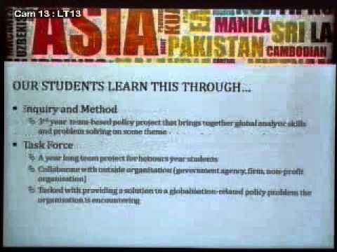 2013 FASS Open House  - Global Studies Major