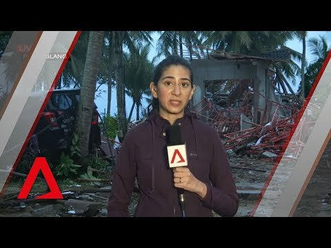 Indonesia tsunami: Scene on the ground at Pandeglang
