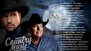 Jim Reeves, Alan Jackson, Vince Gill, Garth Brooks - Best Old Country Music Of All Time