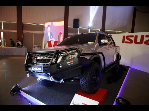Isuzu Launches The All New D Max And Mu X In The Philippines