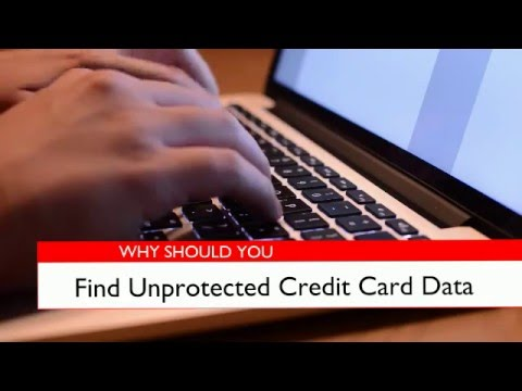 Credit card discovery tools are essential in protecting against data breaches