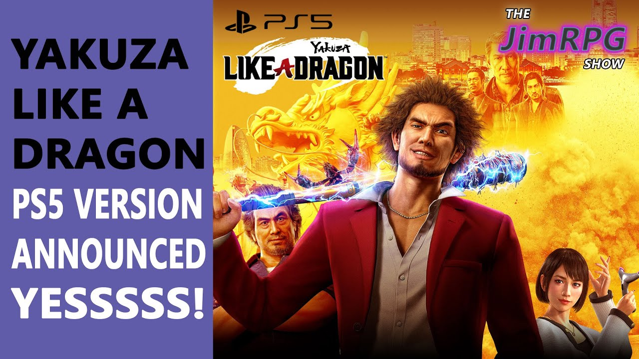 Yakuza Like A Dragon Ps5 Version Announced Rejoice Yakuza Fans