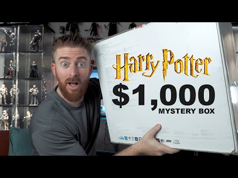 Unboxing a $1000 Harry Potter Funko Pop Mystery Box