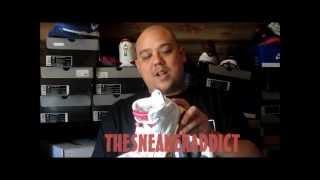 Original 1991 Nike Air Jordan Maroon 6 Sneakers W/ @DjDelz