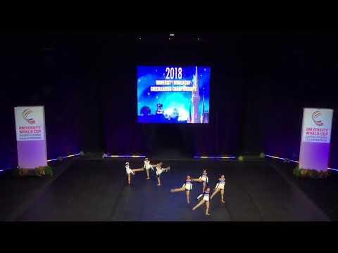 チアダンス世界大会演技