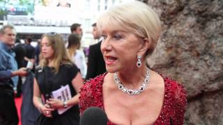 Helen Mirren tells our reporter off at Red 2 Premiere