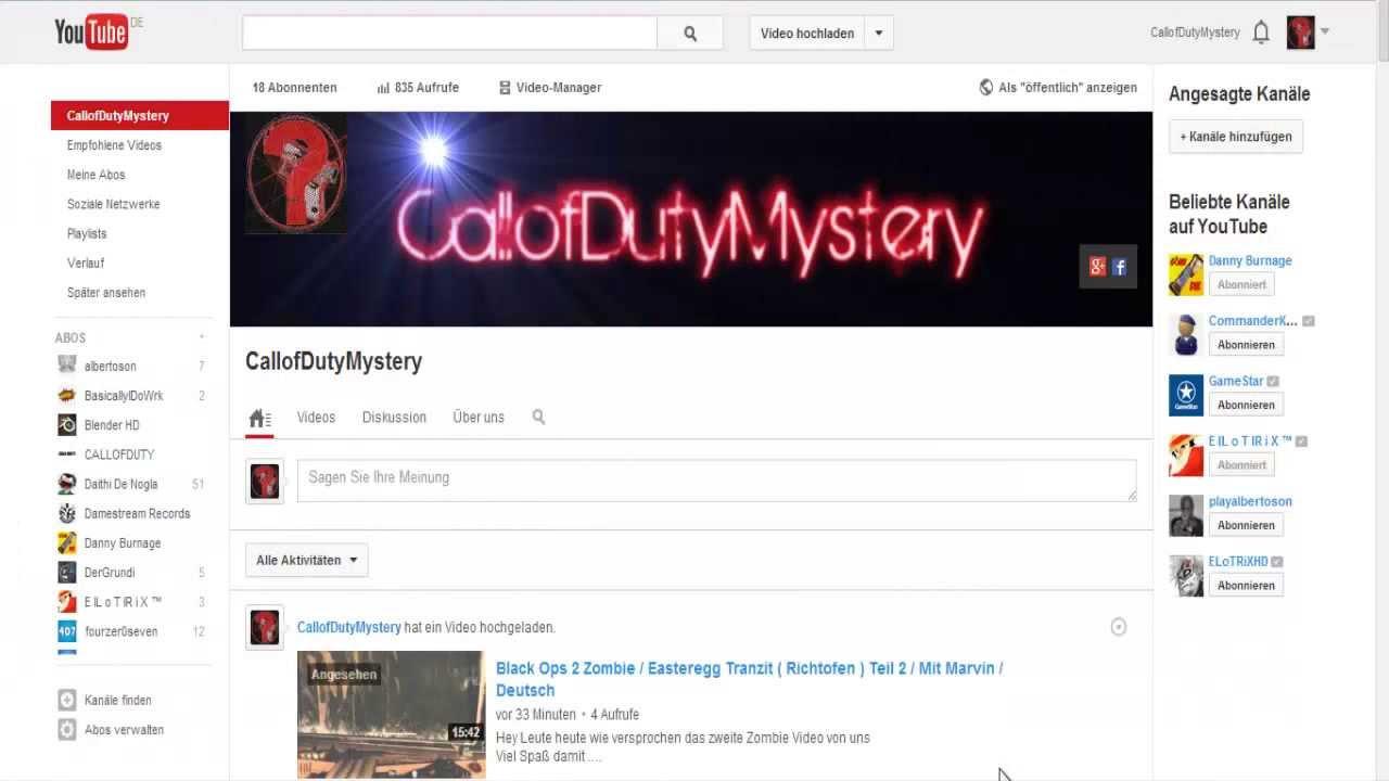 Private Nachrichten Youtube