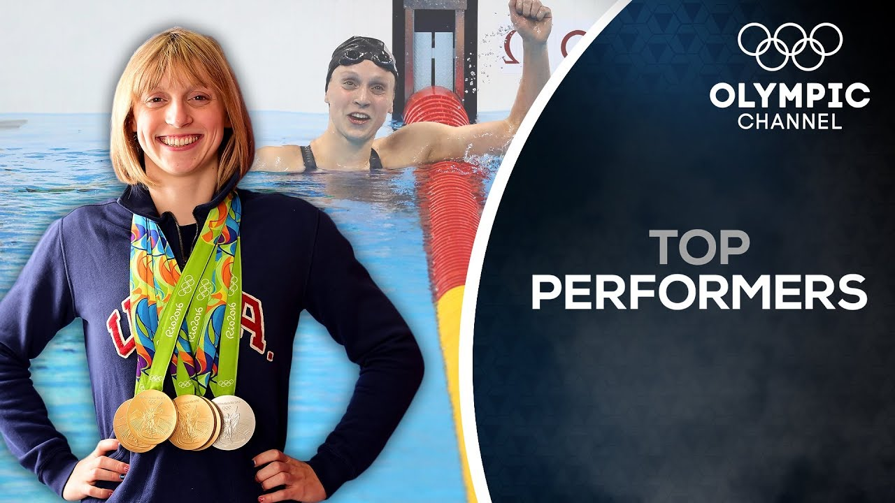 How American swimming hero Katie Ledecky stays focused on Tokyo 2020   Top  Performers