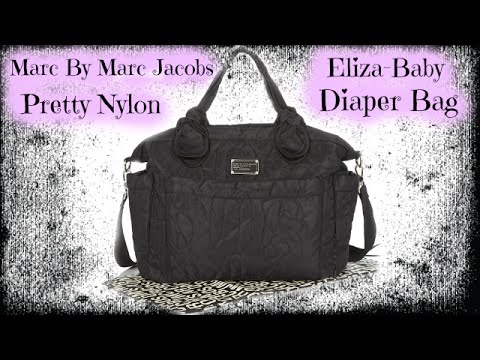 55477cb25213 Marc by Marc Jacobs Eliza Baby Bag l What s Inside  - YouTube