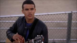 Glee - Jake and Marley meet on the bleachers 4x02