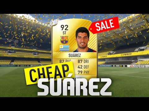 FIFA 17 - THE CHEAP SUÁREZ