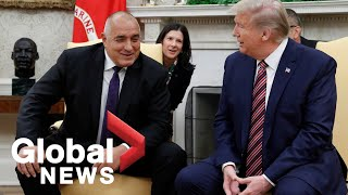 Trump hosts meeting with Bulgaria's Prime Minister