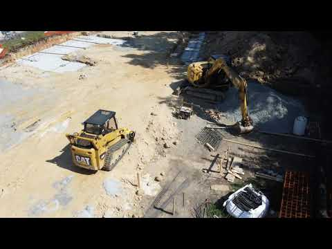 Drone Over BCC Construction Site!