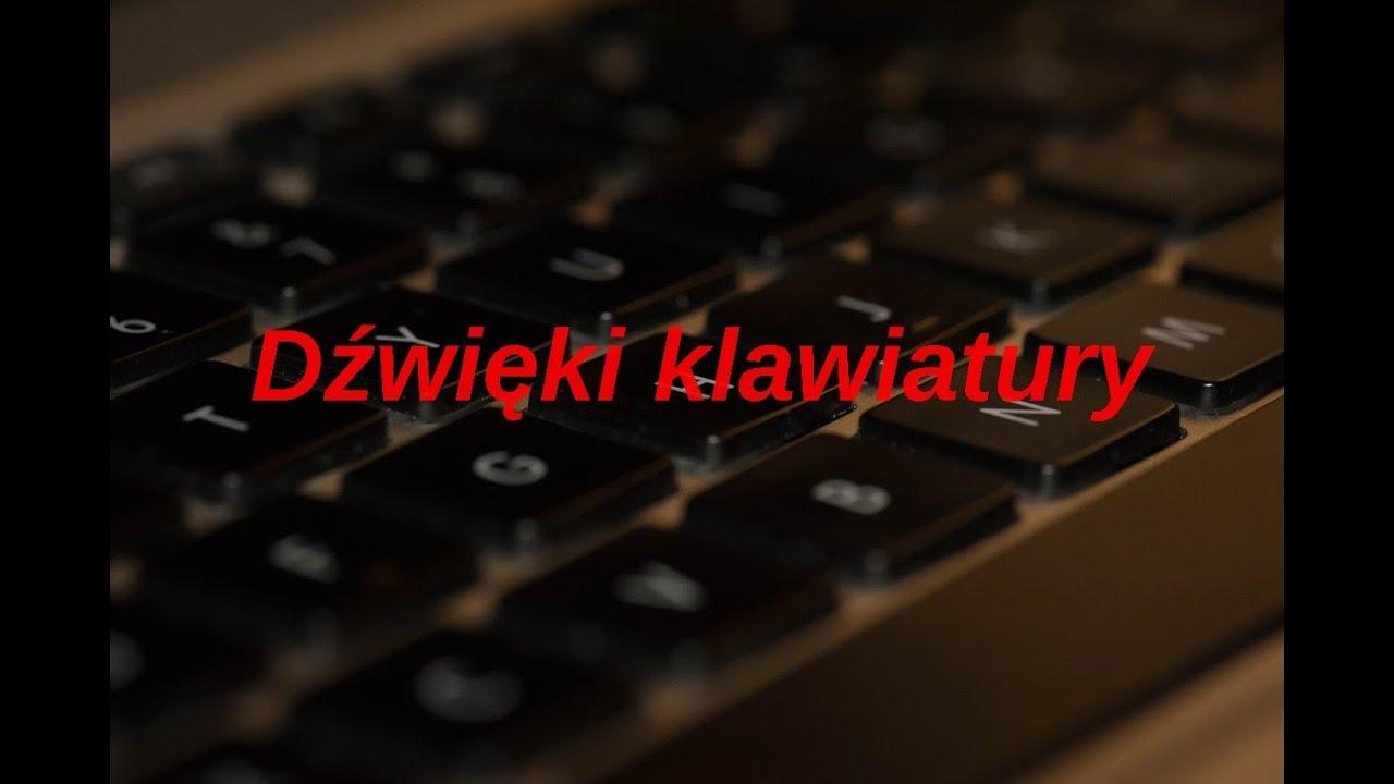 Keyboard ASMR PL, dźwięk pisania na klawiaturze, relaksujące klikanie