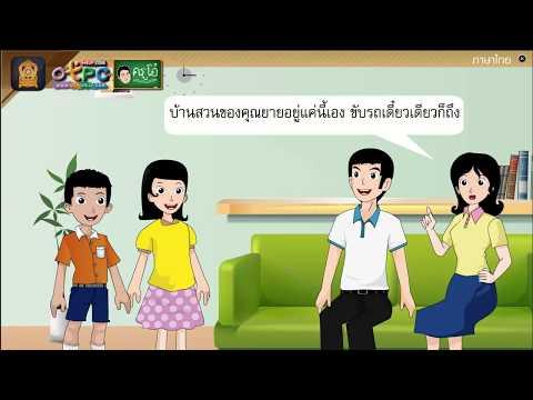 กลอนกานท์จากบ้านสวน - สื่อการเรียนการสอน ภาษาไทย ป.6