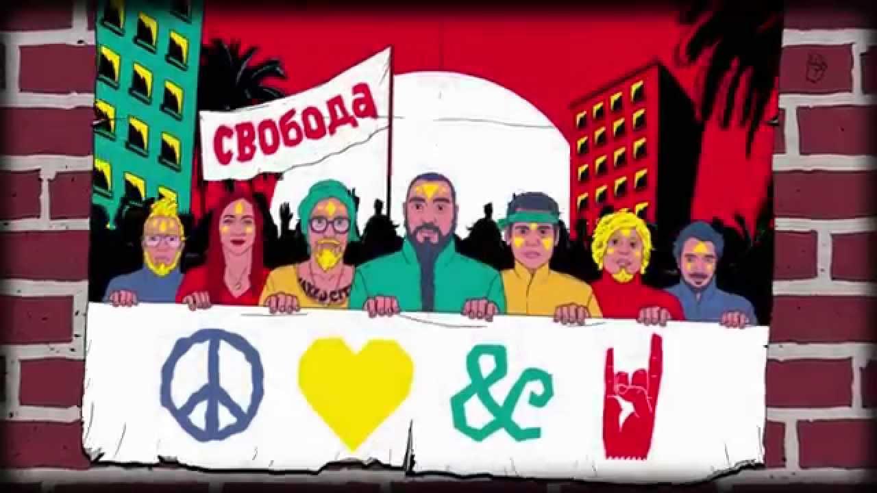 RUSSKAJA — El Pueblo Unido (Official Video)   Napalm Records