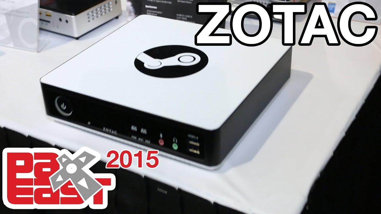 Zotac Steam Box - PAX East 2015 | Racer lt