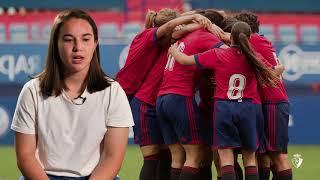 """Sara Carrillo: """"Para mí, jugar en Osasuna es una oportunidad muy grande""""."""