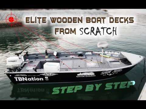 Building Wooden Boat Decks for DIY Bass Boats | STEP by STEP Tutorial | Smokercraft Restoration