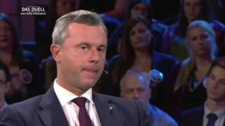 Körpersprache Analyse TV Duell: Van der Bellen - Hofer