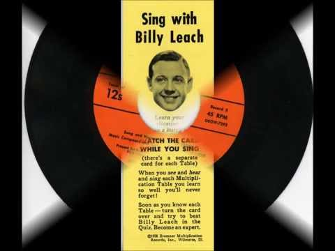 MUSICAL MULTIPLICATION TABLES 1956 -- sung and narrated by Billy Leach